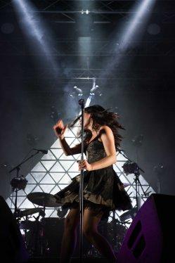 Ky-Mani Marley et Olivia Ruiz Festivals des suds Vence (21)